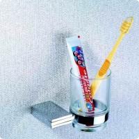 Стакан подвесной стеклянный 5702 (Premium) BADICO