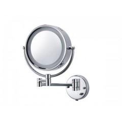 Зеркало косметическое увеличивающее с подсветкой 1052 BADICO