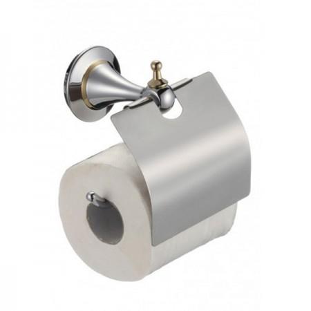 Держатель туалетной бумаги (хром) BADICO