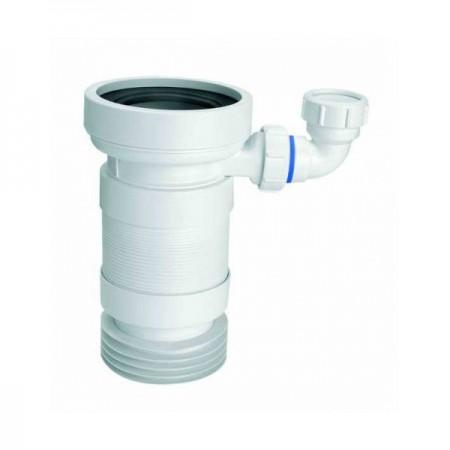 Труба растяжная к унитазу с отводом WC-F23RD McALPINE