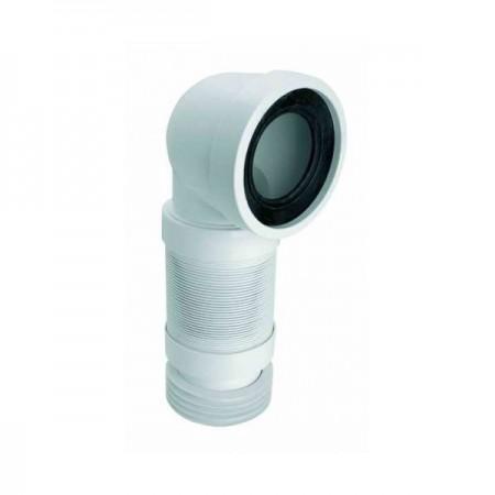 Колено для унитаза под углом 90 растяжная труба, L-280-630mm, WC-CON8F McALPINE