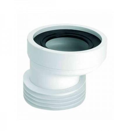 Колено-подключение к унитазус уплотнением L-120мм WC-CON4 McALPINE