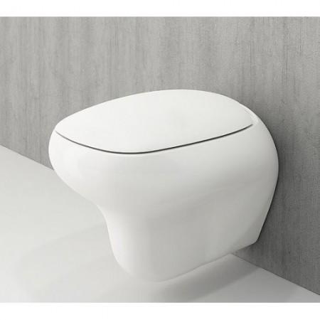 Унітаз підвісний FENICE білий.+сид.дюроп.пов пад (1166-001-0129+А0327-001)