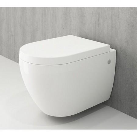 Унітаз підвісний JET FLUSH білий глянцевий+сид.дюроп.(1171-001-0129+А0300-001)