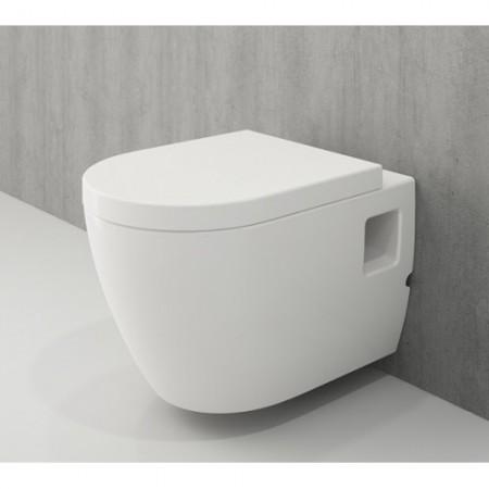 Унітаз підвісний PARMA S білий (1265-001-0129)