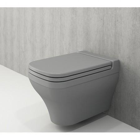 Унітаз підвісний SCALA ARCH мат. сірий+сид.дюроп.(1080-006-0129+А0322-006)