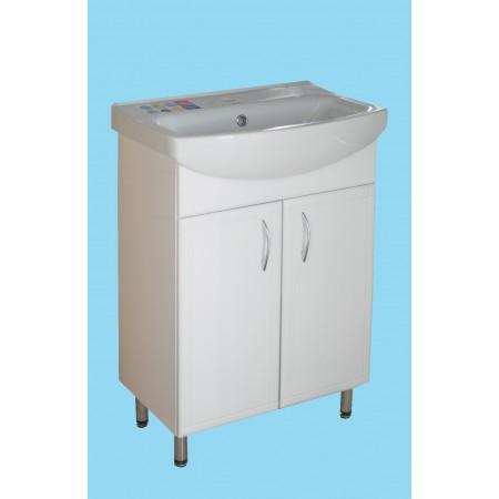 Тумба для ванной комнаты с умывальником Cersania 55 T1/1