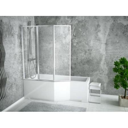 Ванна-душ акриловая INTEGRA Besco 170х75 левая