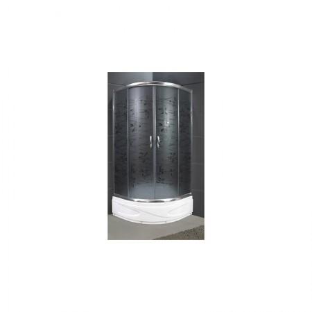 Душевая кабина 9018GT Santeh 90х90 / поддон 30 см