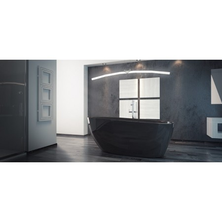 Ванна GOYA BLACK 160 BESCO 160х70