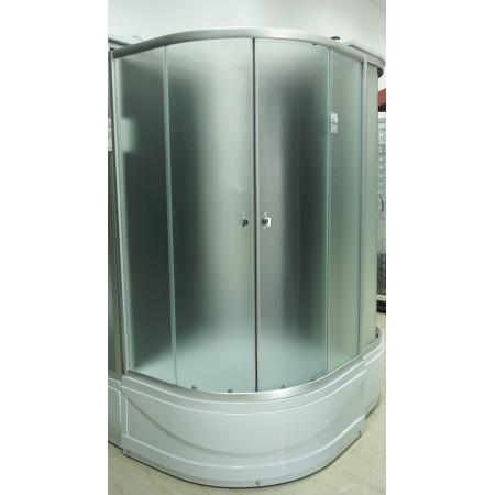 Душевая кабина 8821 Santeh 80х80 / поддон 40 см + задняя стенка