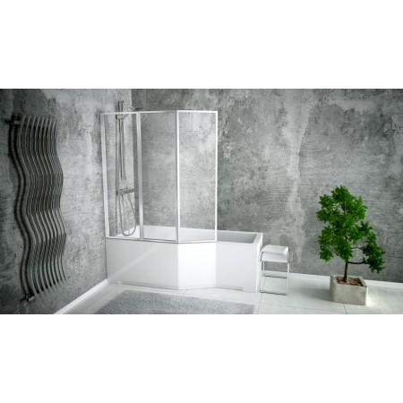 Ванна акриловая INTEGRA 170х75 Права (соло) без ног