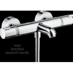 Смеситель с термостатом для ванны Ecostat Comfort Matt Black (13114670)