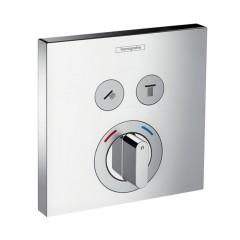 Смеситель скрытого монтажа ShowerSelect на 2 клавиши верхняя часть (15768000)