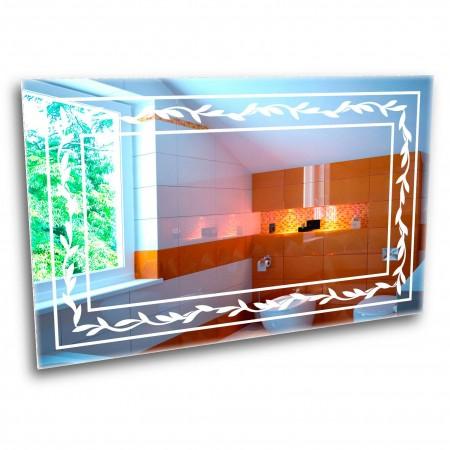Зеркало с лед подсветкой 6-14 1000x800
