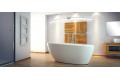 Ванна акриловая GOYA XS ретро 142x62 с сифоном клик-клак