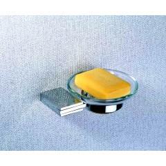 Мыльница подвесной стеклянный 5701 A (Chrome plating)