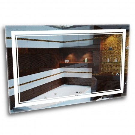 Зеркало с лед подсветкой 6-2 1000х800