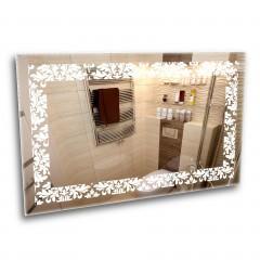 Зеркало с лед подсветкой 6-15 1000х800