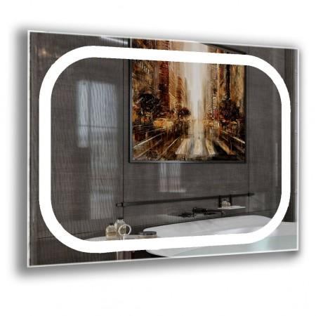 Зеркало с лед подсветкой 6-20 700х800