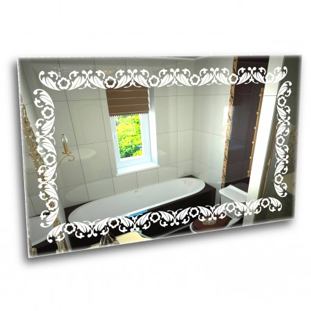 Зеркало с лед подсветкой 6-21 700х800