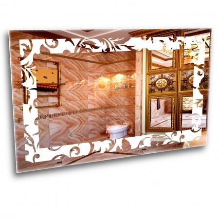 Зеркало с лед подсветкой 6-19 500х800