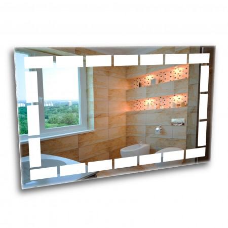 Зеркало с лед подсветкой 6-6 500х800