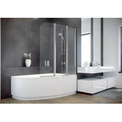 Шторка для ванны AMBITION-3 Besco стеклянная