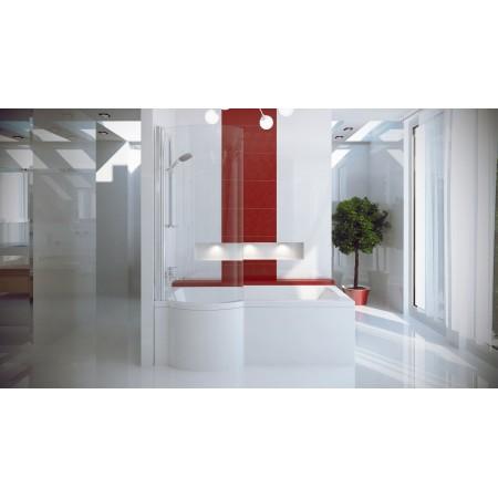 Ванна-душ акриловая INSPIRO Besco 160х70 левая