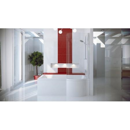 Ванна-душ акриловая INSPIRO Besco 150х70 правая