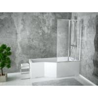 Ванна-душ акриловая INTEGRA Besco 150х75 правая