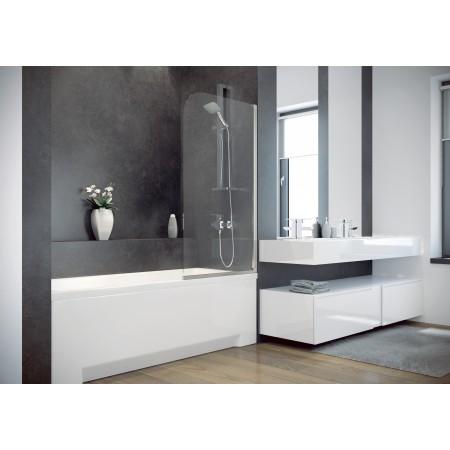 Шторка для ванны AMBITION-1 Besco стеклянная