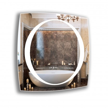Зеркало с лед подсветкой 6-27 600х800