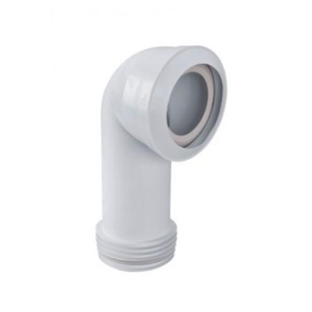 Патрубок резиновый канализационный 190мм, угловой 90 °, с фланцевой прокладкой MAC8L-EXS McAlpine