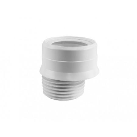 Патрубок резиновый канализационный, эксцентричный смещение 20мм, с фланцевой прокладкой WC-CON4M-N McAlpine