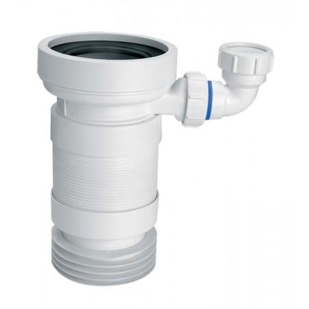 Труба растяжимая к унитазу WC-F23RD McAlpine