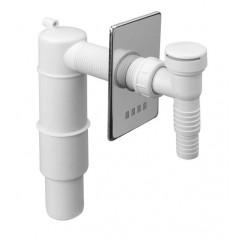 Сифон для стиральной и посудомоечной машины настенный 40 / 50мм. HCWM50V McAlpine