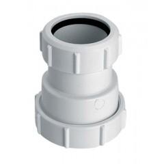 Муфта пластиковая редукционная ∅ 40x50 мм, h 85 мм, 4050H-WH McAlpine