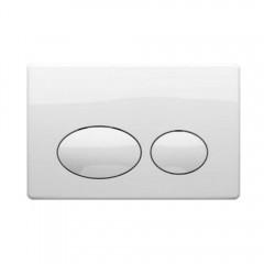 Кнопка к инсталляционной системы, белая COMO (P61-0130)