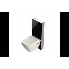 Инсталляционная система со стеклянной панелью, черная T03-C113S