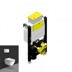 Инсталляционная система, 80 мм 3/6 л с верхней кнопкой (T06-4113)