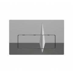 Кнопка к инсталляционной системы, блестящая, хром TRENTO (P62-0120)