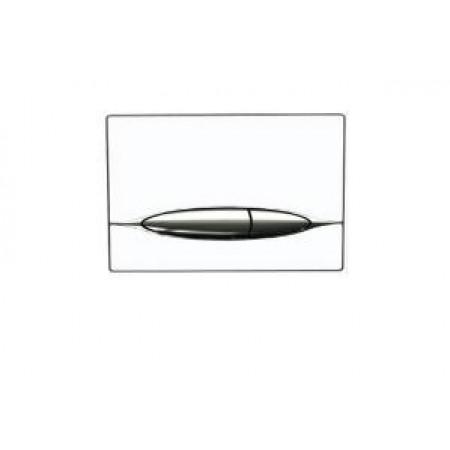 Кнопка к инсталляционной системы, глянцевая белая (P46-0003)