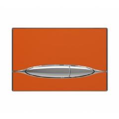 Кнопка смыва к инсталляционной системы, глянцевая, оранжевая. METAURO (P46-0007)