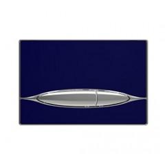 Кнопка смыва к инсталляционной системы, глянцевый. сапфир синий METAURO (P46-0029)