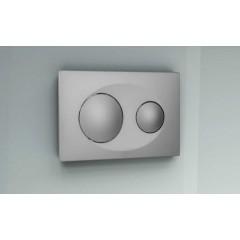 Кнопка к инсталляционной системы, матовая, хром SAVIO (P40-0110)