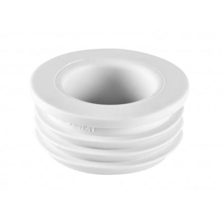 Редукция резиновая канализационная 50х25мм FLEXCONN-5025-WH McAlpine