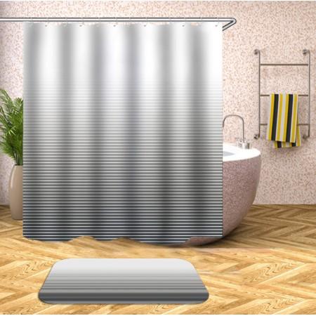 Шторка для ванни SPIRIT 180X180 + кільця YL038