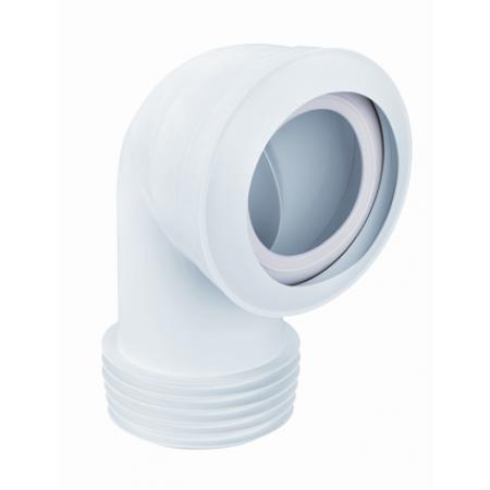Патрубок резиновый канализационный 120мм, угловой 90 °, с фланцевое прокладкой MAC8-EXS McAlpine